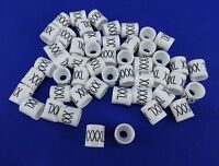 Xxxxl Hanger Garment Size Marker Tag 4x-large Sizer 50 Pieces Retail Store