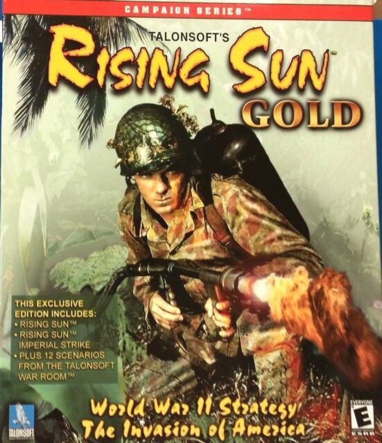 Rising Sun Gold (PC, 2000)(VG CONDITION)
