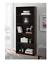 mainstay 5-shelf wood bookcase, black + freeship