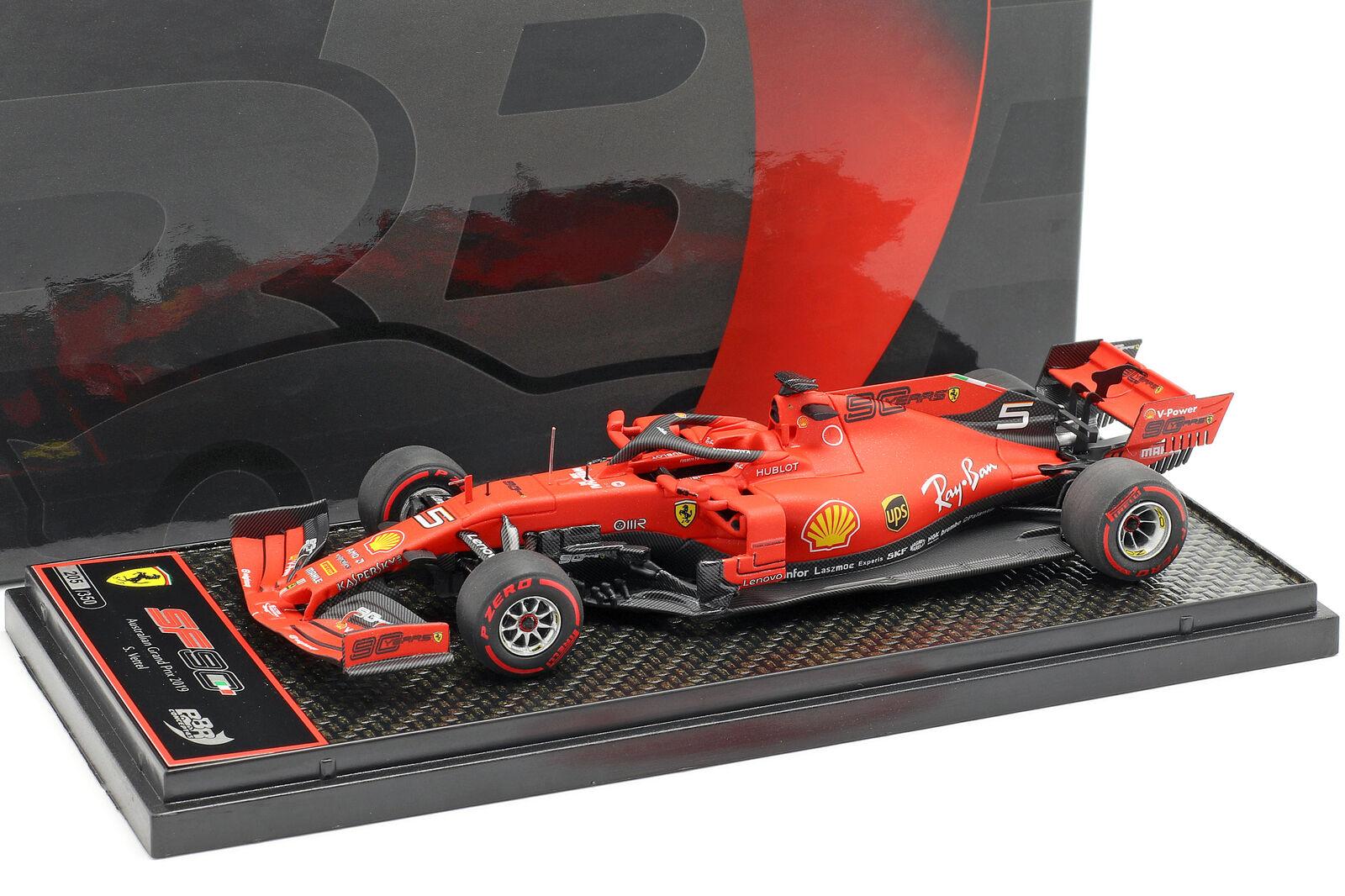 Sebastian Vettel Ferrari SF90  5 4th Australia GP F1 2019 1 43 BBR
