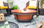 Brushed-Copper-Cast-Iron-Fire-Pit thumbnail 1