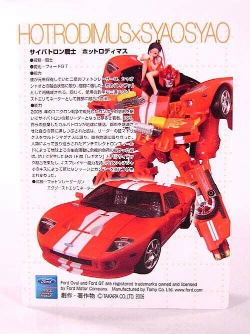Transformers japonais binaltech FORD GT Hot RODIMUS  Action Figure BTA-05  pas cher et de la mode