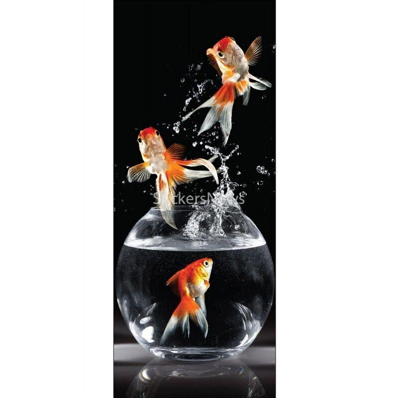 Aufkleber für für für Tür Deko Fische 9517 485c6a