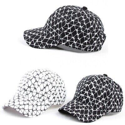 Fashion Hot Bboy Hip Hop Hat Unisex Baseball Caps Casual Solid Adjustable Cap US