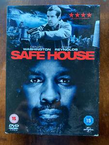 Safe House DVD 2012 Thriller Largeur / Denzel Washington + Ryan Reynolds