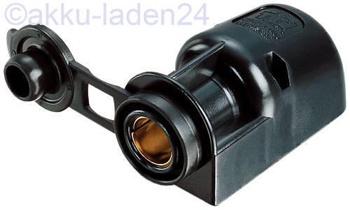 Kleine Norm-Bordsteckdose Ladedose DIN4165 Aufbaudose für Stromversorgung