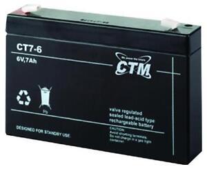 Billiger Preis Ct7-6 Ctm Blei Gittervließ-batterie Bleiakku Wiederaufladbar Bleibatterie 6v 7ah Akkus & Batterien Elektromaterial
