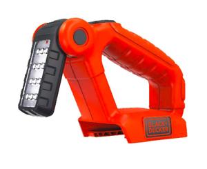 Decker Handheld Light Lamp 20-volt Led Flashlight Black