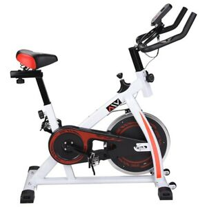 Stationary Exercise Bicycle Indoor Bike Cardio Health Cycling Home Fitness