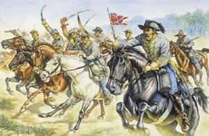 Italeri-1-72-Confederado-Caballeria-Guerra-Civil-Americana-6011