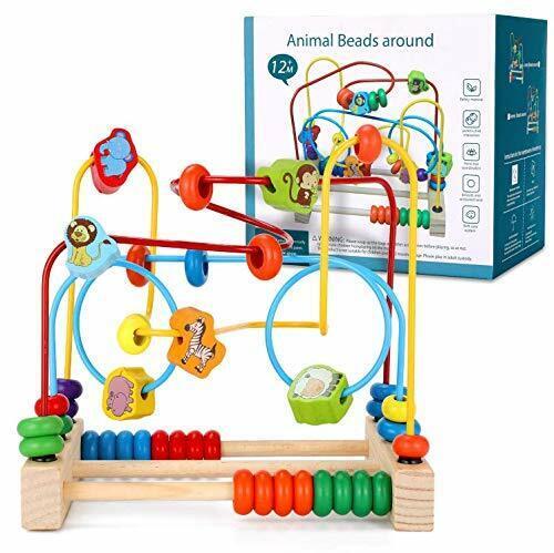 Ucradle Boulier Labyrinthe Circuit de Motricité Montessori Bebe...