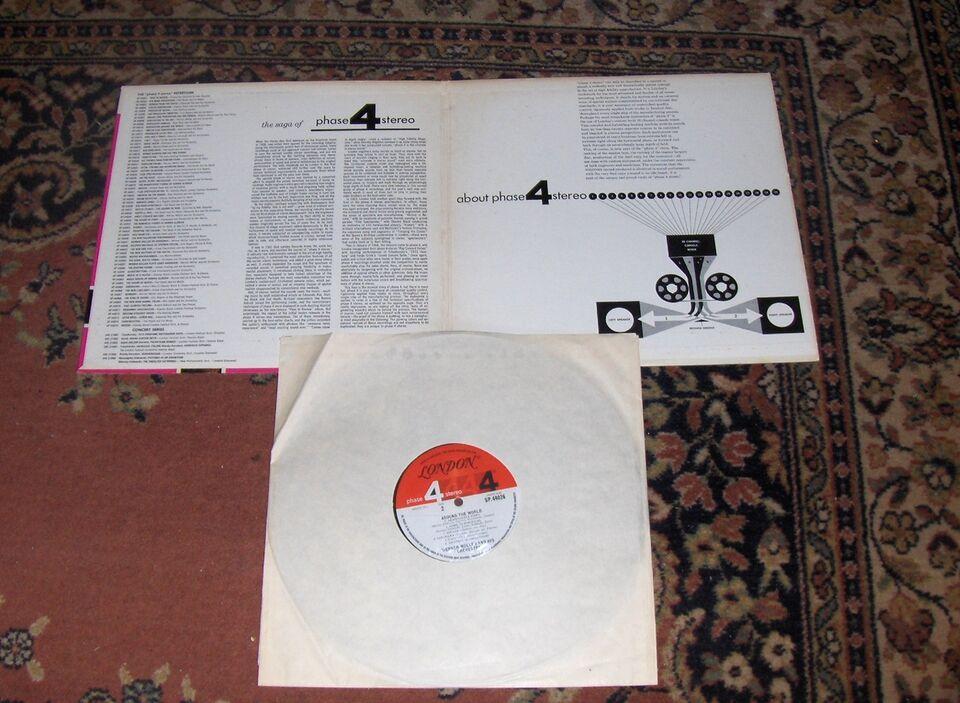 LP, WERNER MÜLLER, LP: WERNER MÜLLER - ON THE MOVE - London