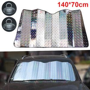 Auto Windschutzscheibe Sonnenschutz UV-Schutz Frontscheibe Abdeckung 140*70 CM