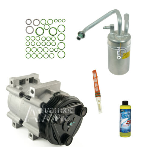 1996-2004 Ford Mustang V6 3.8L /& 3.9l New AC A//C Compressor Kit Fits