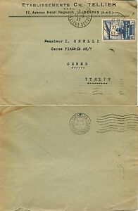 1833-Francia-Traversata-aerea-Atlantico-su-busta-da-Sevres-a-Genova-1937