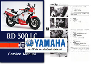 yamaha rd500lc workshop repair service shop manual rz500 rd500 rh ebay co uk yamaha rz 500 service manual Yamaha RZ350