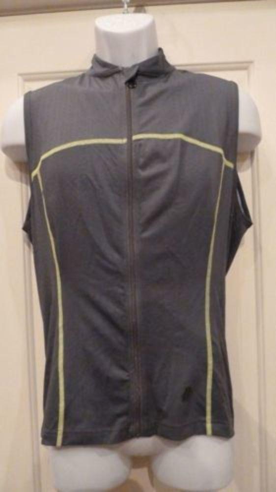 Hincapie Sportswear Mens Power Max S L Jersey Medium Gunmetal Cycling NEW