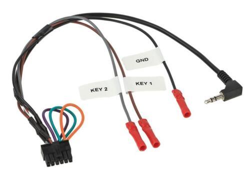 2-din diafragma interruptor 1 Multilead volante adaptador rundpin bmw 3er e46 2001-2007