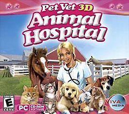 Buy Pet Vet 3d Animal Hospital Jewel Case Pc 2008 Online Ebay