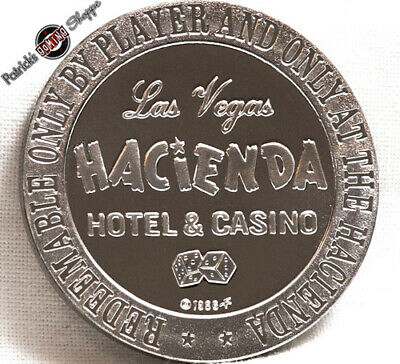 $1 FULL PROOF SILVER KLAD SLOT TOKEN PIONEER CLUB CASINO 1966 FM MINT LAS VEGAS