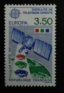 TIMBRE poste. FRANCE. N°2697. neuf Satellite télévision. Europa . année 1991