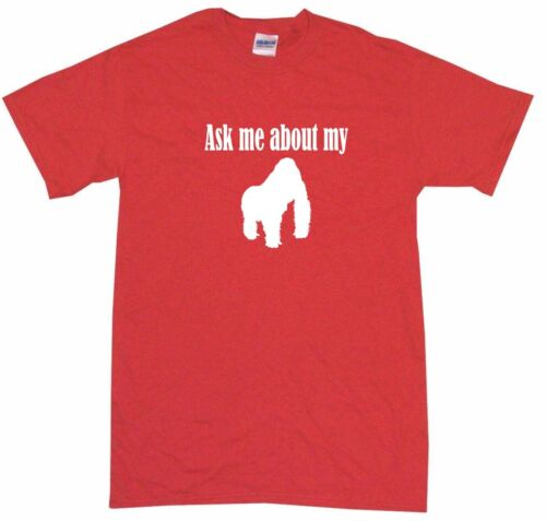 XL Ask Me About My Gorilla Logo Kids Tee Shirt Pick Size /& Color 2T
