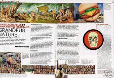 Coupure de Presse Clipping 2009 (2 pages) David Lachapelle Yann Athus Bertrand