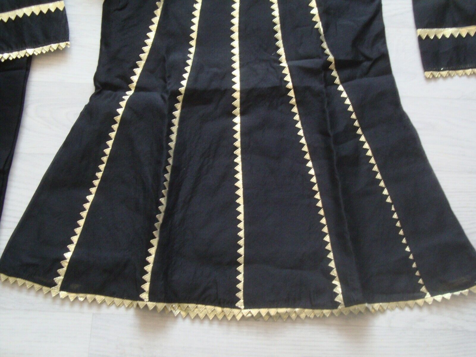 childrens paper cotton frock gota work Type PARTY WEAR 3pc stiched suit FOR EID