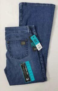 X Rock Formato 47 32 Wrangler donna Flare Jeans Leg aS8n6qzwO
