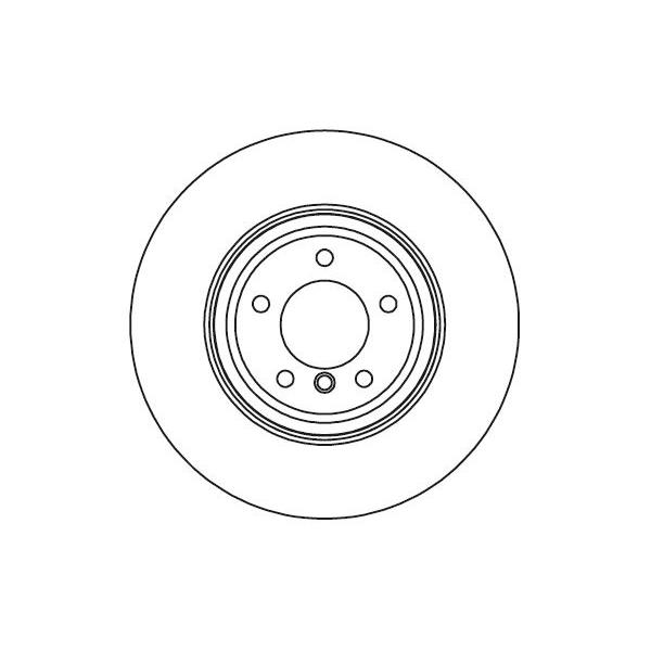 Set of 2 ATE 24.0126-0150.1 Brake Disc Rotors