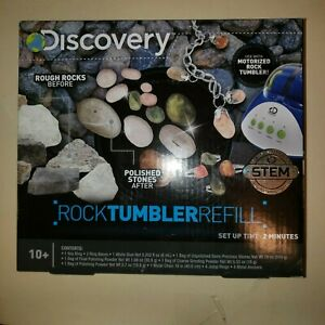 Rock Tumbler Gem Refill Kit Cameron Texas Petrified Wood Tumbling Rough 8oz