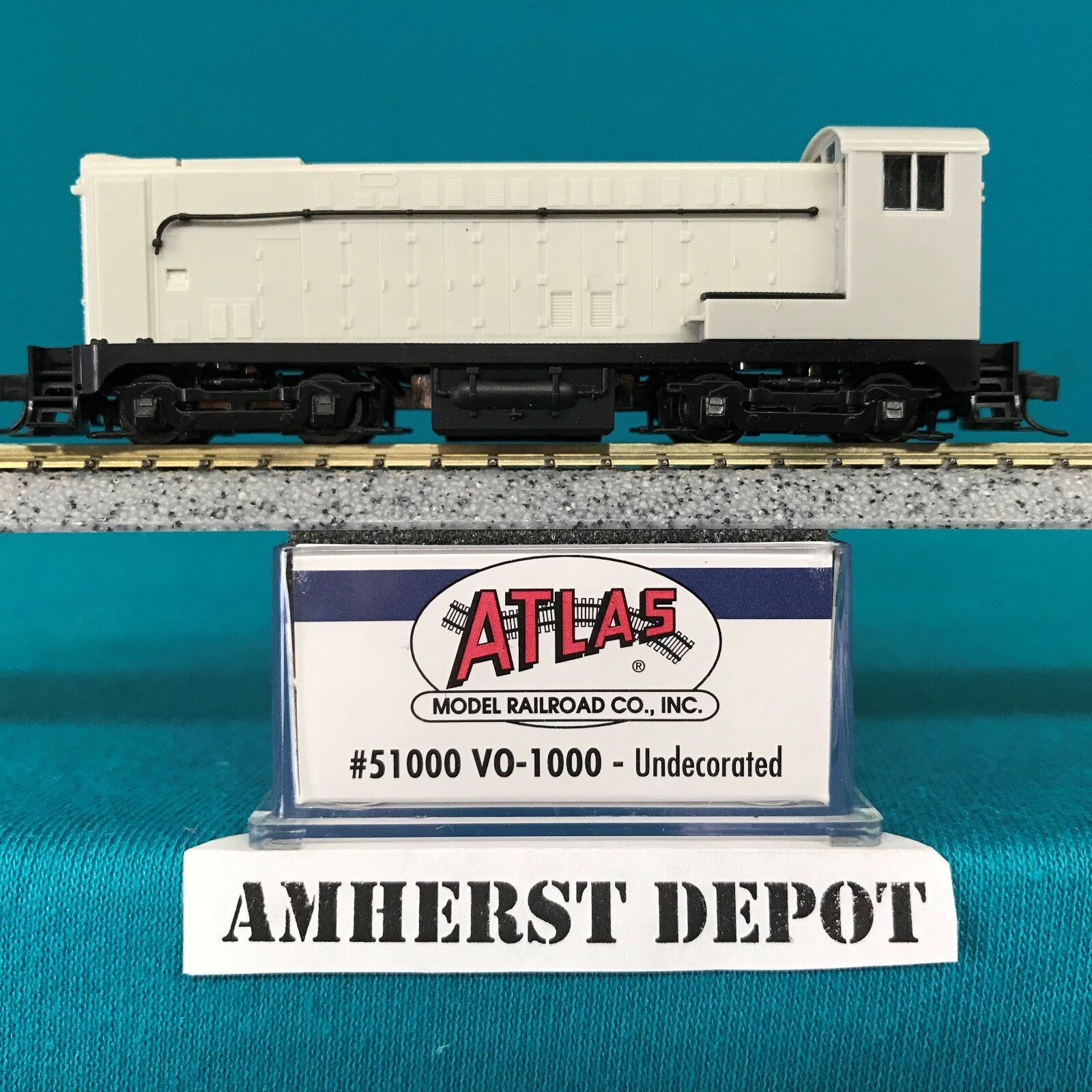 51000 Undecorated Atlas N N N Scale VO-1000 DCC Ready NIB f69953