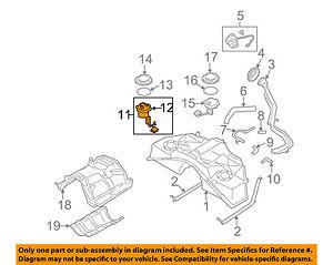 Infiniti NISSAN OEM 08-10 G37-Fuel Pump 17040JL60A | eBayeBay