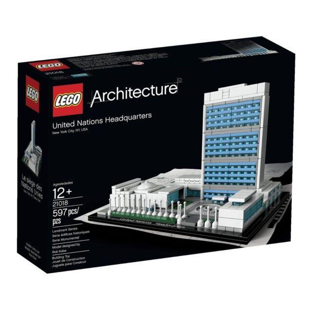 LEGO Architecture 21018 UN United Nations Headquarters - Brand New In Box
