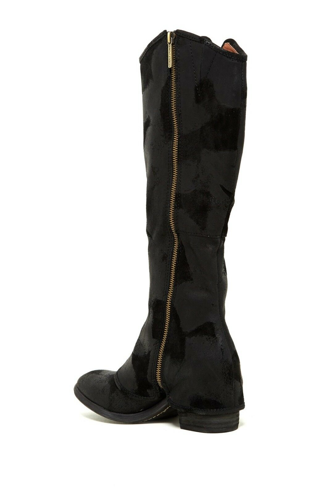NEW NEW NEW Donald J Pliner Devi Antique Black Suede Tall Boot, Women Size 5,  398 2aecbe