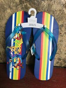 Official-Disney-Flip-Flops-Men-s-9-10-Ladies-11-12