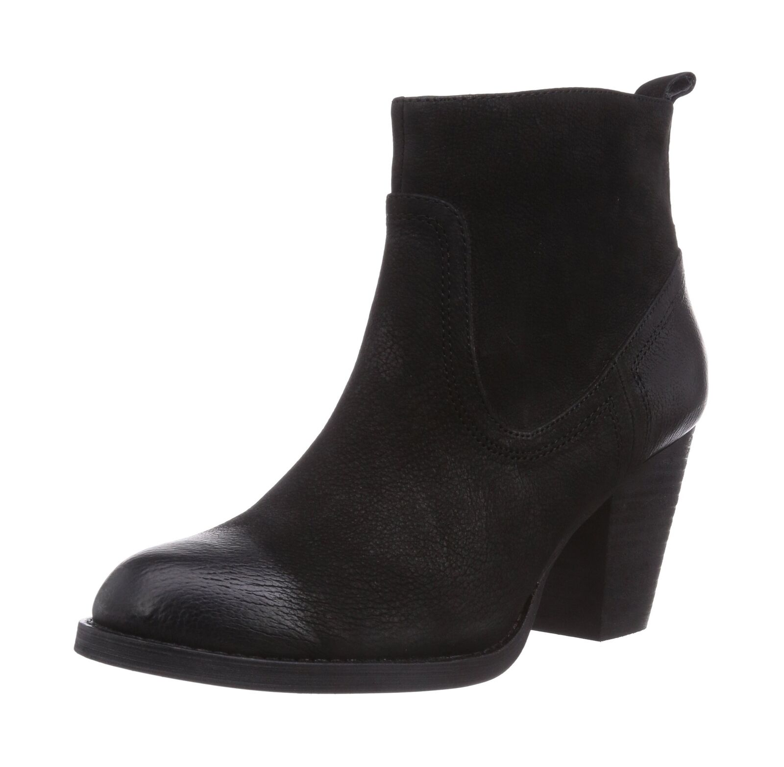 Buffalo London Women's 412-0964 ARNO LEATHER (Black Boots Black - Schwarz (Black LEATHER 01) eb59cb