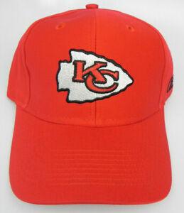 KANSAS-CITY-CHIEFS-NFL-REEBOK-RED-ADJUSTABLE-STRAPBACK-VINTAGE-CAP-HAT-NEW