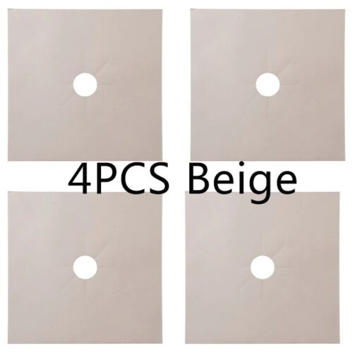 1//4PC Stove Protector Cover Liner Gas Stove Protector Gas Stove Stovetop Burner