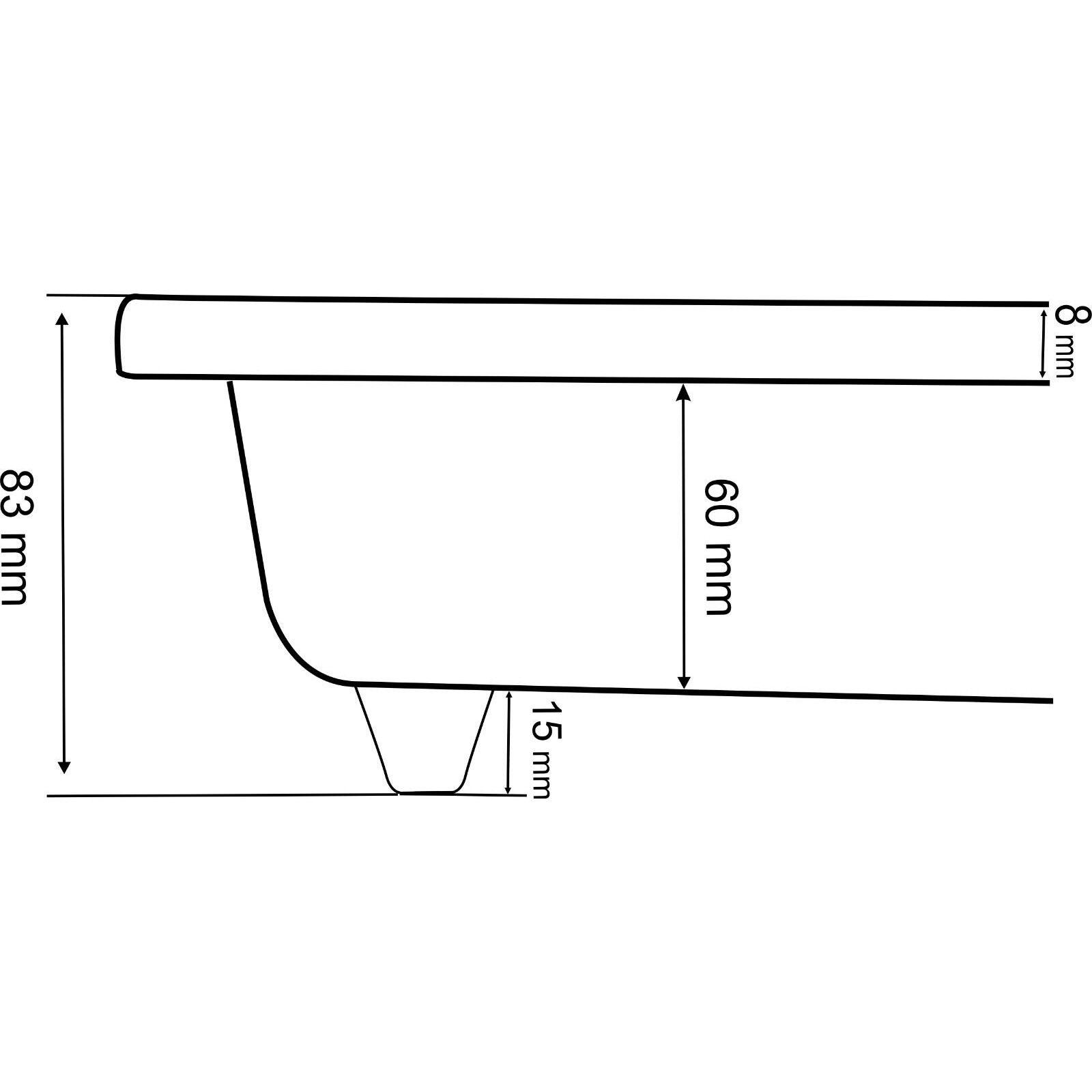 Domino-G 30cm Built-in Gas hob 2 Set burner Cook-top Weiß Glass + Gas Regulator Set 2 b1348a