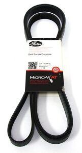 Gates Micro-V Ribbed Belt FOR BMW 7 SERIES E38 7PK1635
