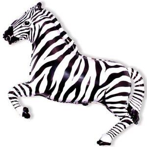 Zebra-Black-White-26-Foil-Balloon-Jungle-Party