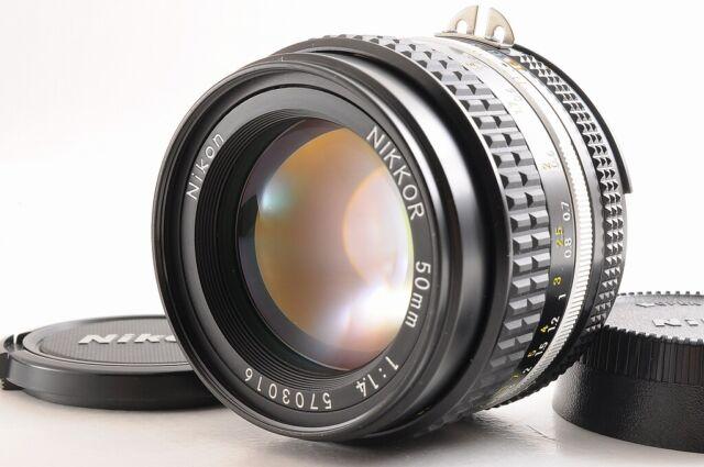TOP MINT + Nikon AiS Nikkor 50mm f/1.4 MF Manuell Fokus Linse aus Japan