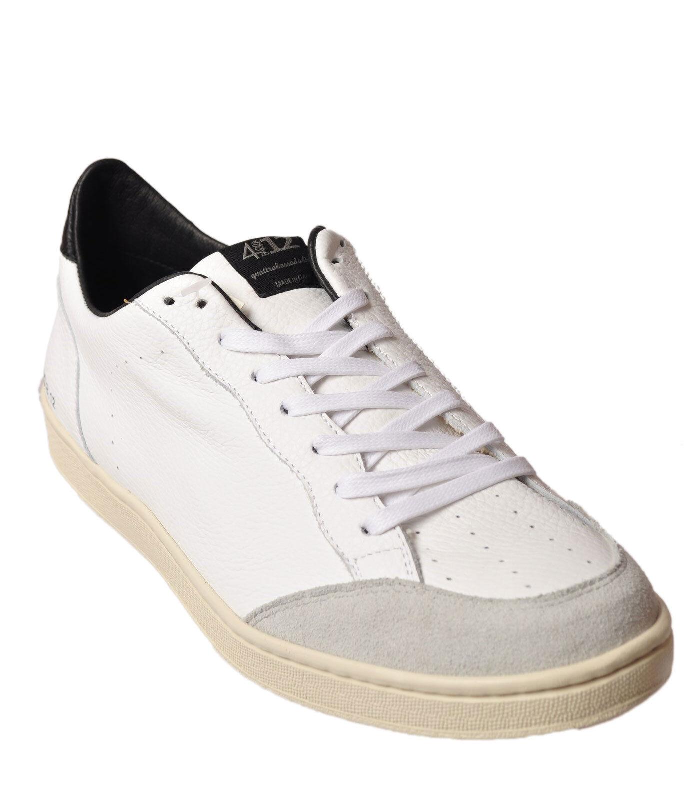 Quattrobarradodici - shoes-Sneakers low - Man - White - 49715N184241