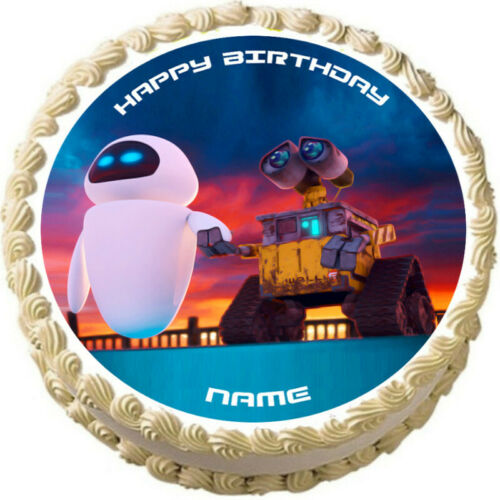 WALL-E Party Edible cake topper image decoration