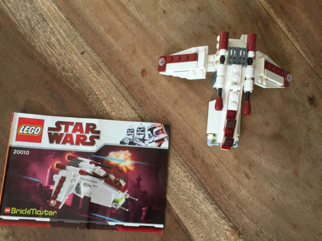 Lego Star Wars, 20010 Republic Gunship, Lego Star Wars:…