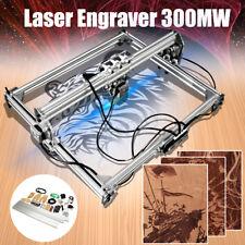 DIY 12V 3000mW Laser Incisore Engraver Taglio 65x50cm Incisione Printer Incidere