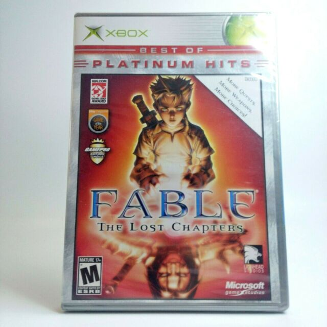 Fable: The Lost Chapters Microsoft Xbox NEW SEALED Free Same Day Shipping