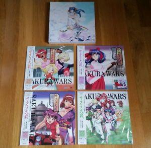 4-LD-Box-Laserdisc-Sakura-Wars-anime-manga-laser-disc-JP