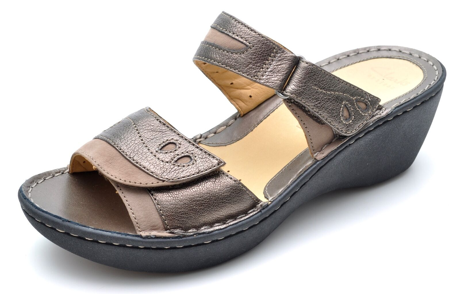 NEW Nicole Miller Raf Pony Fur Ankle Strap Sandal, Zebra, Women Size 6,